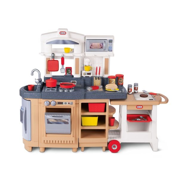 Little Tikes Cook Around Kitchen and Cart