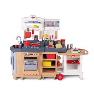Little Tikes Cook Around Kitchen and Cart
