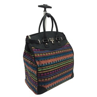 Rollies Aztec Rolling 14-inch Travel Tote