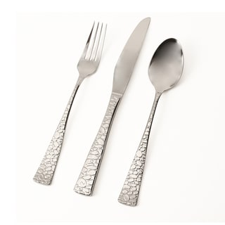 Hampton Forge Skandia Pebble Mirror 20-piece Flatware Set