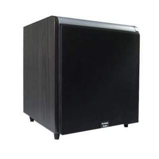 Acoustic Audio Black HD-SUB15-BLACK 15-Inch HD Series Front Firing Subwoofer