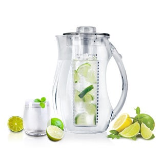 InFuzeH20 Fruit-Infuser Clear Acrylic Water Pitcher
