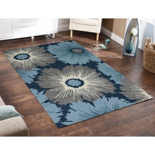 San Mateo Navy Multi-purpose Rug (7'6 x 9'6)