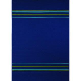 Half Moon Bay Blue Multi-purpose Rug (7'6 x 9'6)