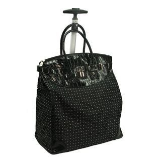 Rollies Classic Polka Dot Rolling 14-inch Laptop Travel Tote Bag https://ak1.ostkcdn.com/images/products/10811822/P17856876.jpg?impolicy=medium