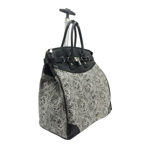 Rollies Paisley Rolling 14-inch Laptop Travel Tote
