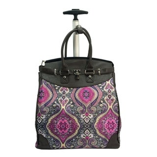 Rollies Taj Mahal Rolling 14-inch Laptop Travel Tote
