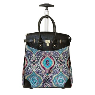 Rollies Taj Mahal Rolling 14-inch Laptop Travel Tote (2 options available)