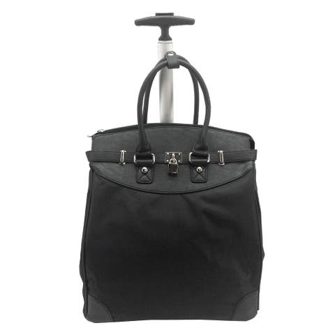 Rollies Solid Rolling 14-inch Laptop Travel Tote
