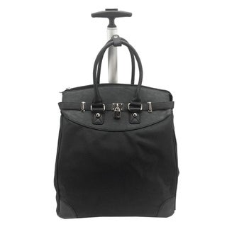 Link to Rollies Solid Rolling 14-inch Laptop Travel Tote Similar Items in Carry On Luggage