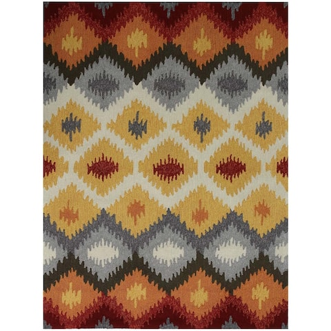 San Mateo Yellow Multi-purpose Rug (2' x 3') - 2' x 3'