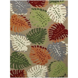San Mateo Beige Multi-purpose Rug (7'6 x 9'6)