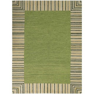 San Mateo Olive Green Multi-purpose Rug (7'6 x 9'6)