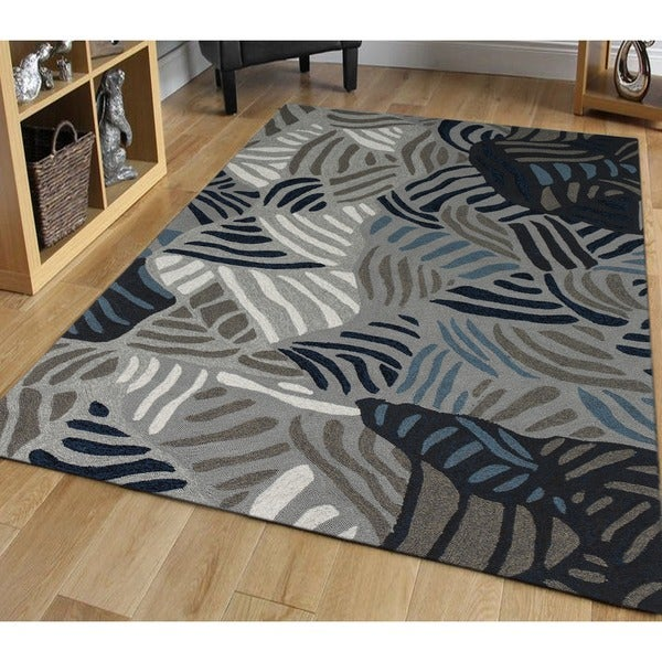 San Mateo Grey Multi-purpose Rug (8' x 11')