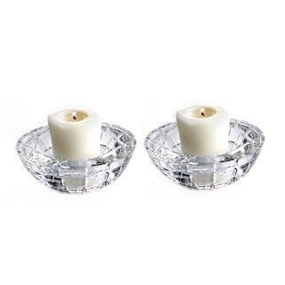 Fitz and Floyd Emerald Round Votives (Set of 2)