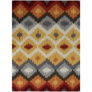 San Mateo Yellow Multi-purpose Rug (8' x 11')