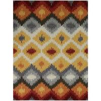 San Mateo Yellow Multi-purpose Rug (8' x 11') - 8' x 11'