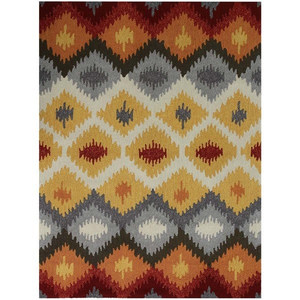 "San Mateo Yellow Multi-purpose Rug - 7'6"" x 9'6"""