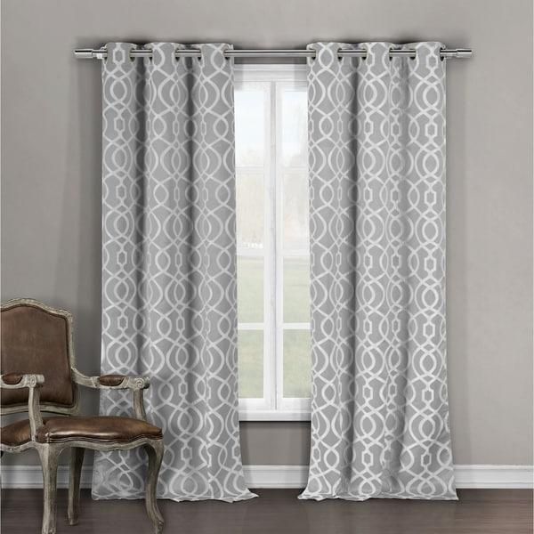 Duck River Harris Grommet Top Blackout Curtain Panel Pair