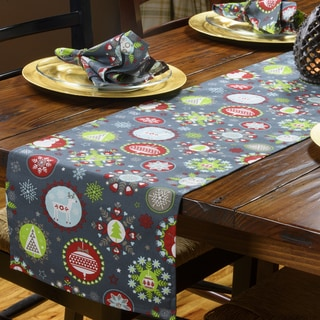 Christmas Holiday Cheer Table Runner