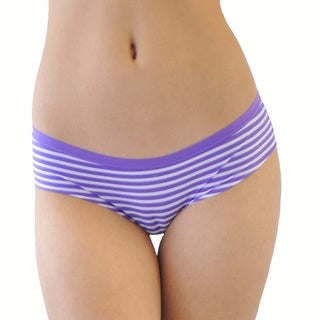 Prestige Biatta Purple Striped/ Lace Hipster