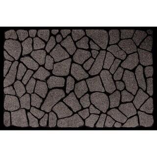Outdoor Flagstone Grey Doormat (18 x 30)
