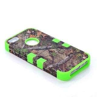 iPM Camouflage Real Tree Rugged Protective Case For iPhone 5/ 5S