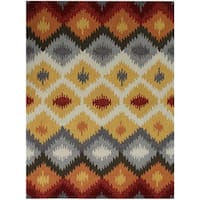 San Mateo Yellow Multi-purpose Rug (4' x 6')