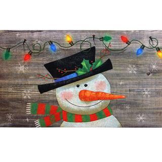 Indoor/ Outdoor Woodland Snowman Doormat (18 x 30)|https://ak1.ostkcdn.com/images/products/10812009/P17857039.jpg?impolicy=medium