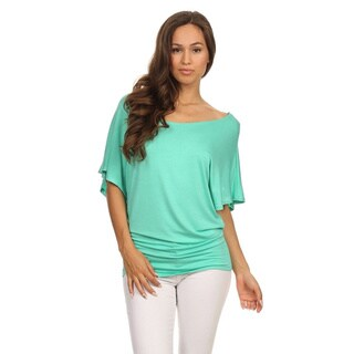 MOA Collection Women's Relaxed Dolman Top