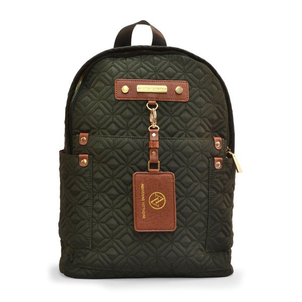 66d4e34fe7ce Shop Adrienne Vittadini Quilted Nylon Backpack - Free Shipping Today ...