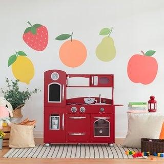 Teamson Kids Red Play Kitchen