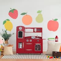 Teamson Kids Red Play Kitchen
