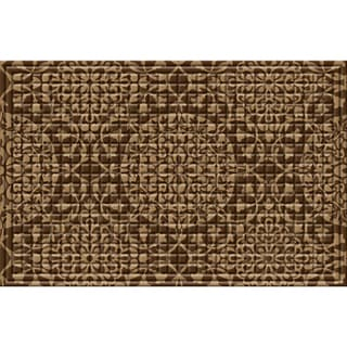 Indoor/ Outdoor All Over Medallion Doormat (24 x 36)
