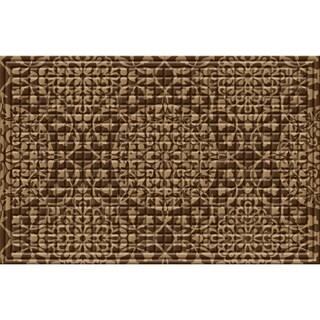 Indoor/ Outdoor All Over Medallion Doormat (24 x 36)