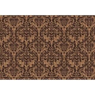 Link to Indoor/ Outdoor Damask Doormat (24 x 36) Similar Items in Decorative Accessories