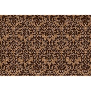 Indoor Outdoor Damask Doormat 24 X 36 Overstock 10812048