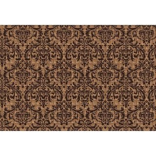 Indoor/ Outdoor Damask Doormat (24 x 36)
