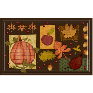 Indoor/ Outdoor Harvest Collage Doormat (18 x 30)