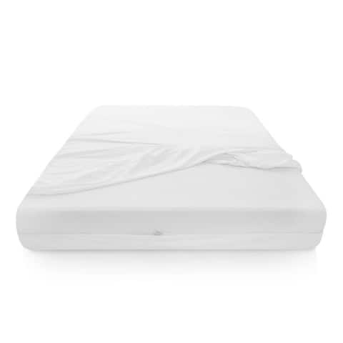 Sleep Tite Encase Omniphase Cooling Mattress Protector - White