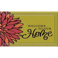 Indoor/ Outdoor Botanical Home Doormat (18 x 30)