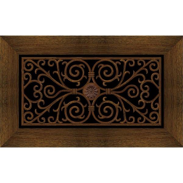 Outdoor Wrought Iron Cherry Doormat 20 X 47