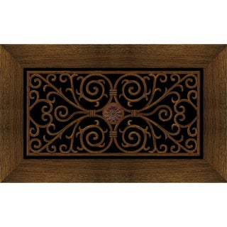 Outdoor Wrought Iron Cherry Doormat (20 x 47)