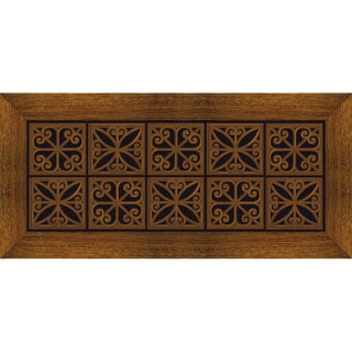 Outdoor Iron Trivet Doormat (20 x 47)
