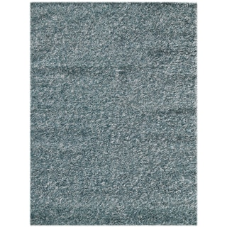 Pacifica Sea Blue Shag Rug (8' x 10')