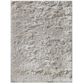 Pacifica White Shag Rug (8' x 10')