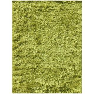 Pacifica Lime Green Shag Rug (8' x 10')