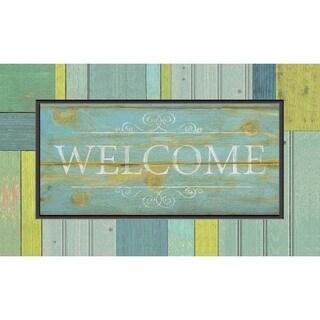 Outdoor Seaside Welcome Doormat (18 x 30)