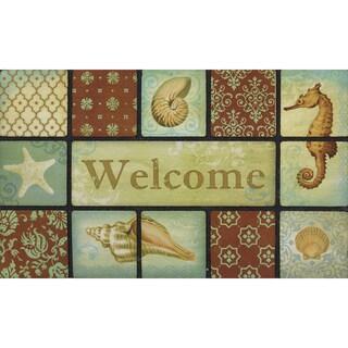 Link to Outdoor Ocean Breeze Doormat (18 x 30) Similar Items in Decorative Accessories