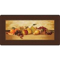 Indoor Delicious Fruit Kitchen Mat (20 x 39)
